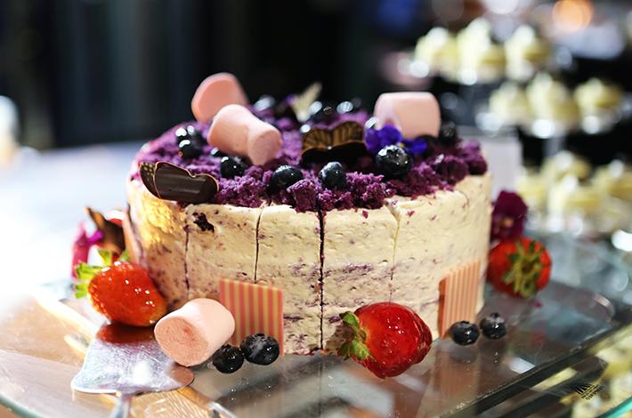 Crowne Plaza Cake