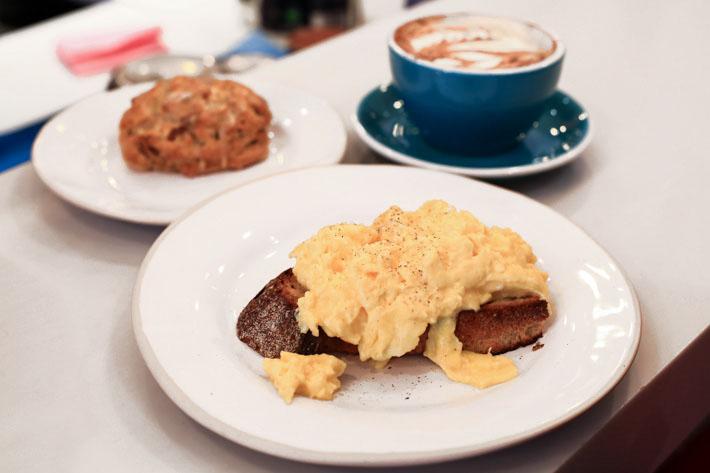Gail's Bakery Scrambled Eggs