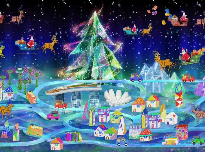 ArtScience-Museum-Christmas-town