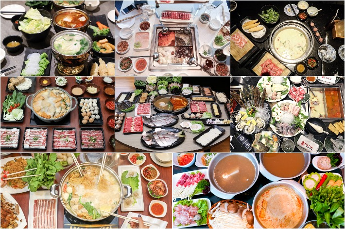 Hot Pot Collage