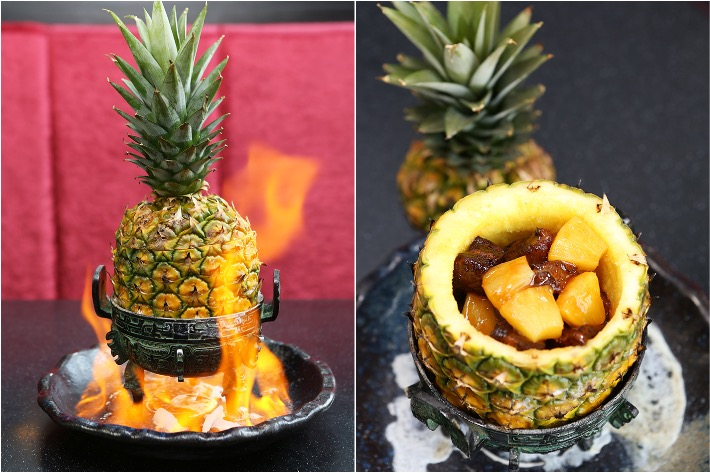 Lokkee Flaming Pineapple