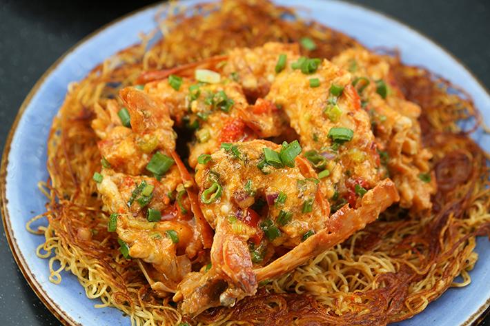 Lokkee King Prawn Chao Ta Noodles