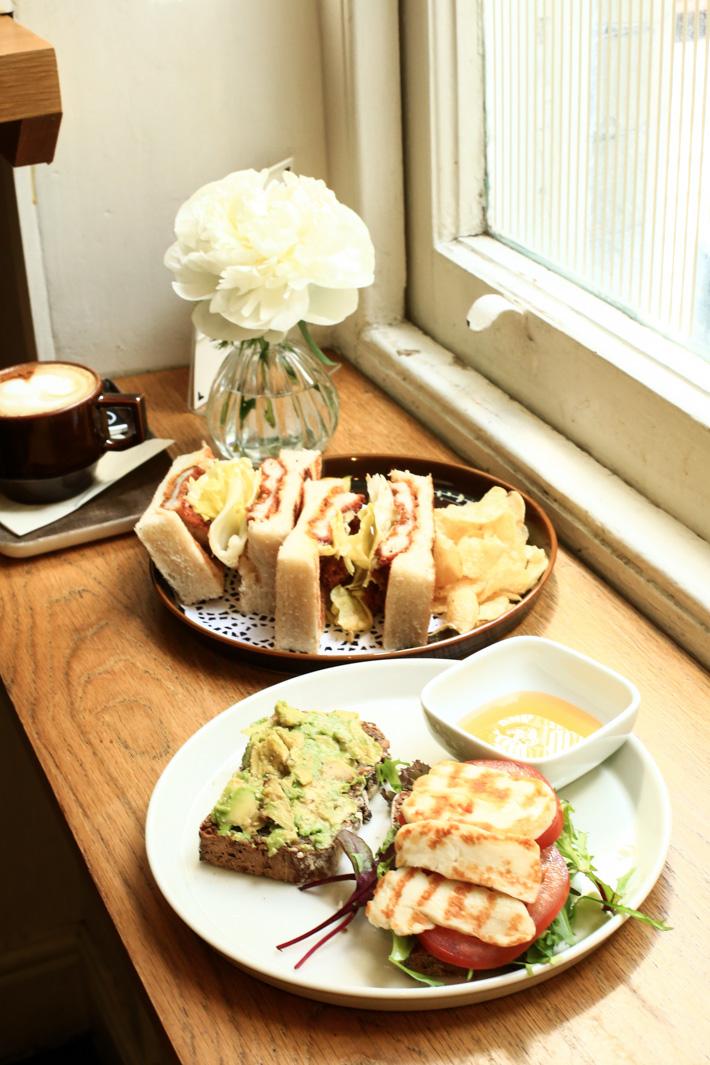 Monocle Cafe London Food
