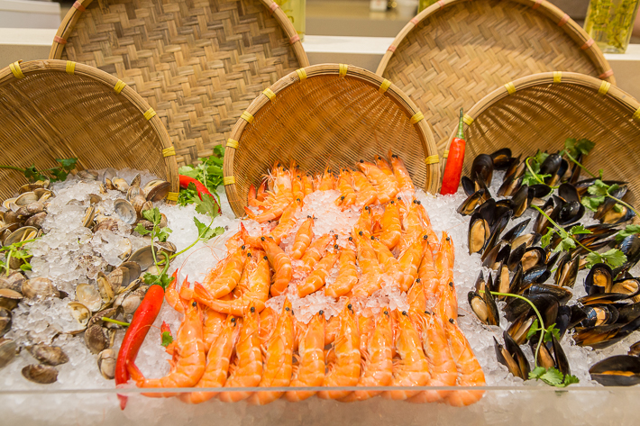 Ginger Parkroyal Seafood on Ice
