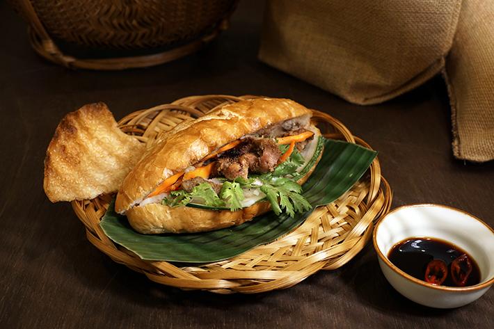 Paper Rice Grilled Pork Banh Mi