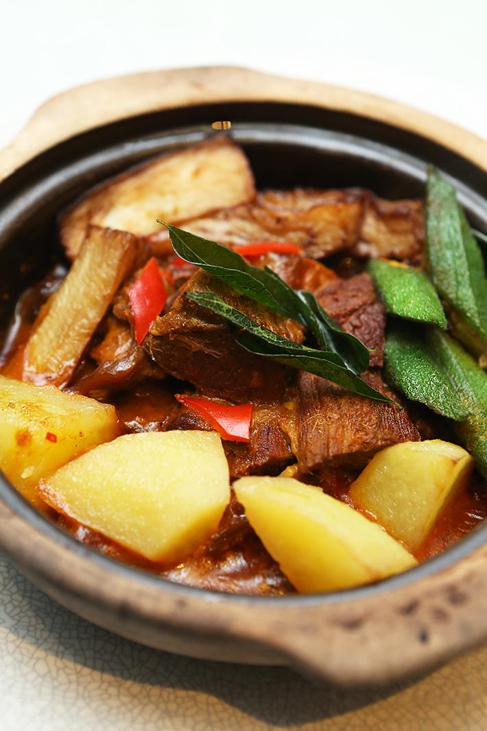 Si Chuan Dou Hua Beef Curry