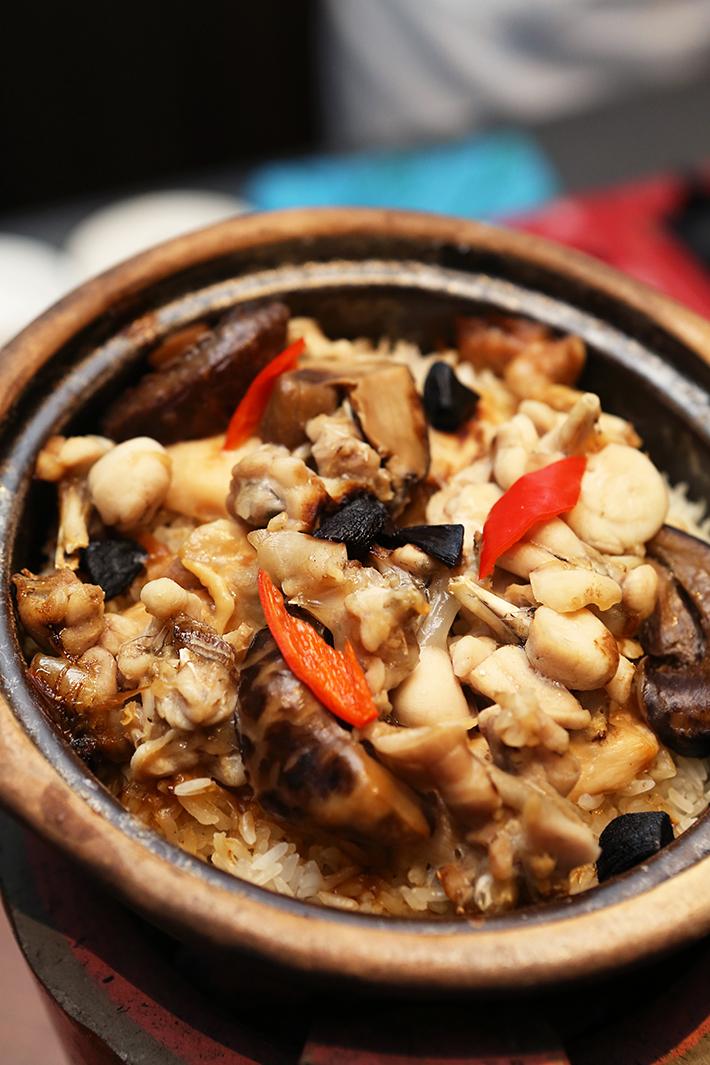 Si Chuan Dou Hua Frog Claypot Rice