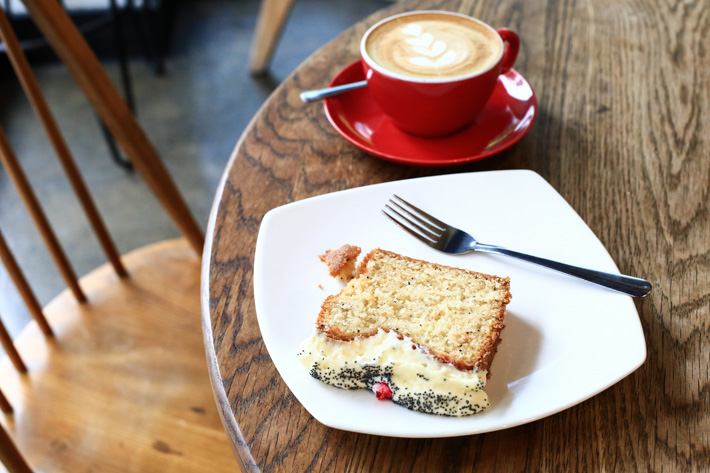 The Coffeeworks Project Lemon Poppy Seed Cake