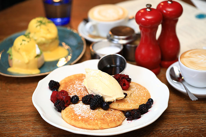 The Riding House Cafe Breakfast