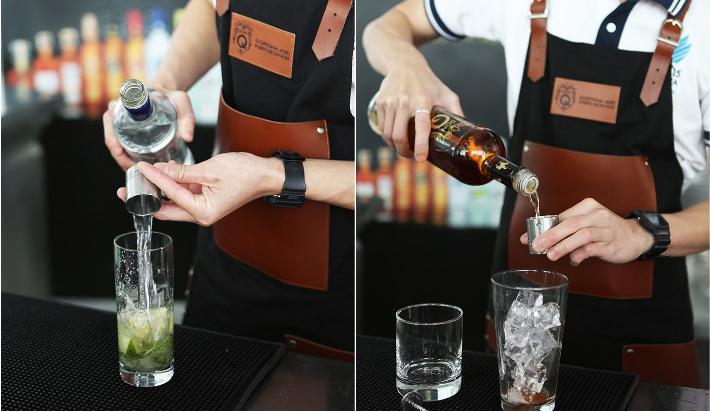 Don Q Bartender Collage 2