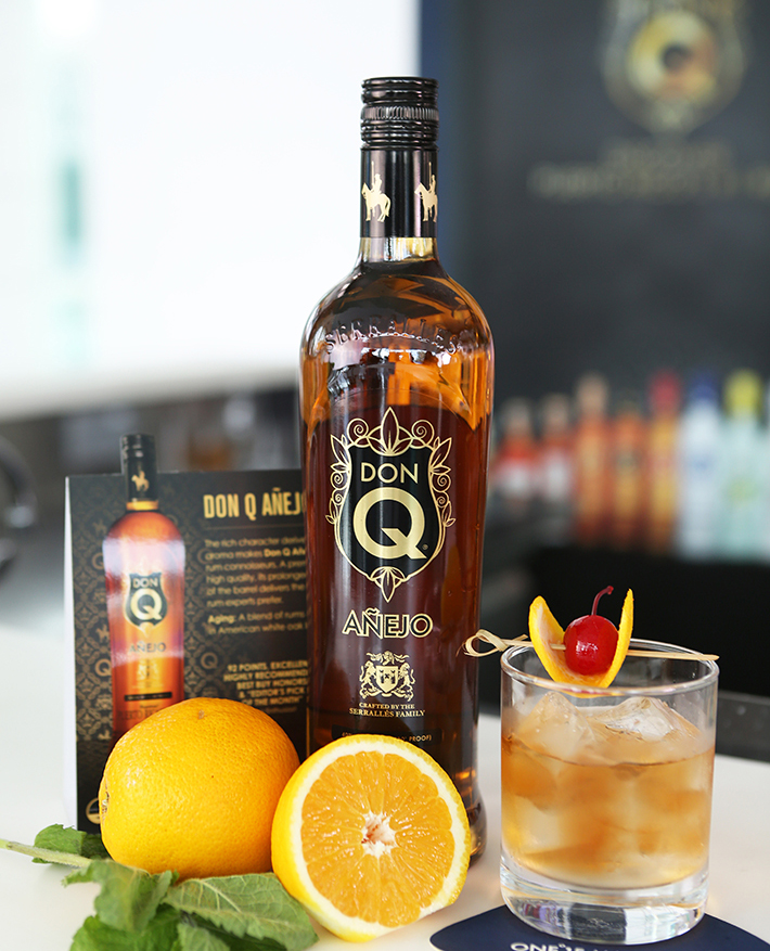 Don Q Old Fashioned 2