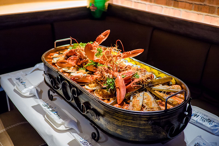 Hi Joyful Seafood Platter