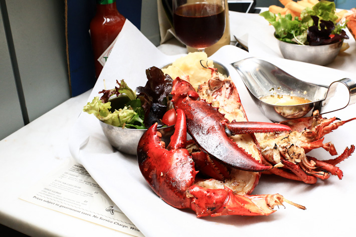Market Grill Whole Lobster