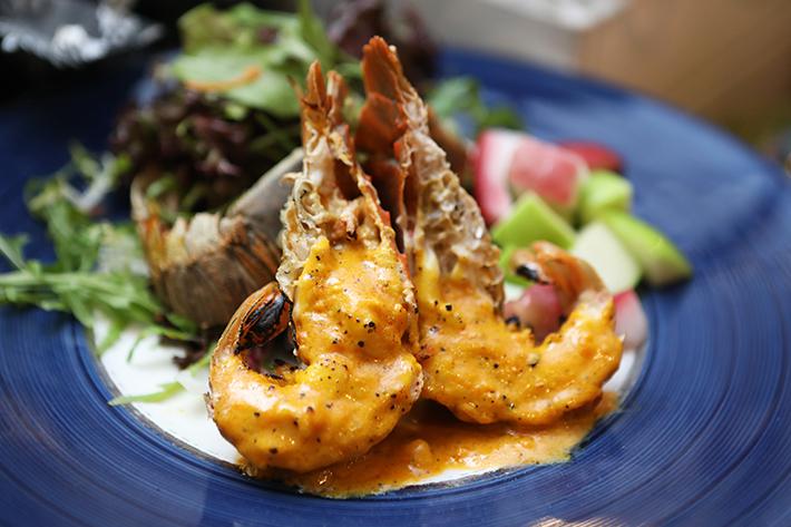Spice Brasserie Salted Egg Mayo Crayfish