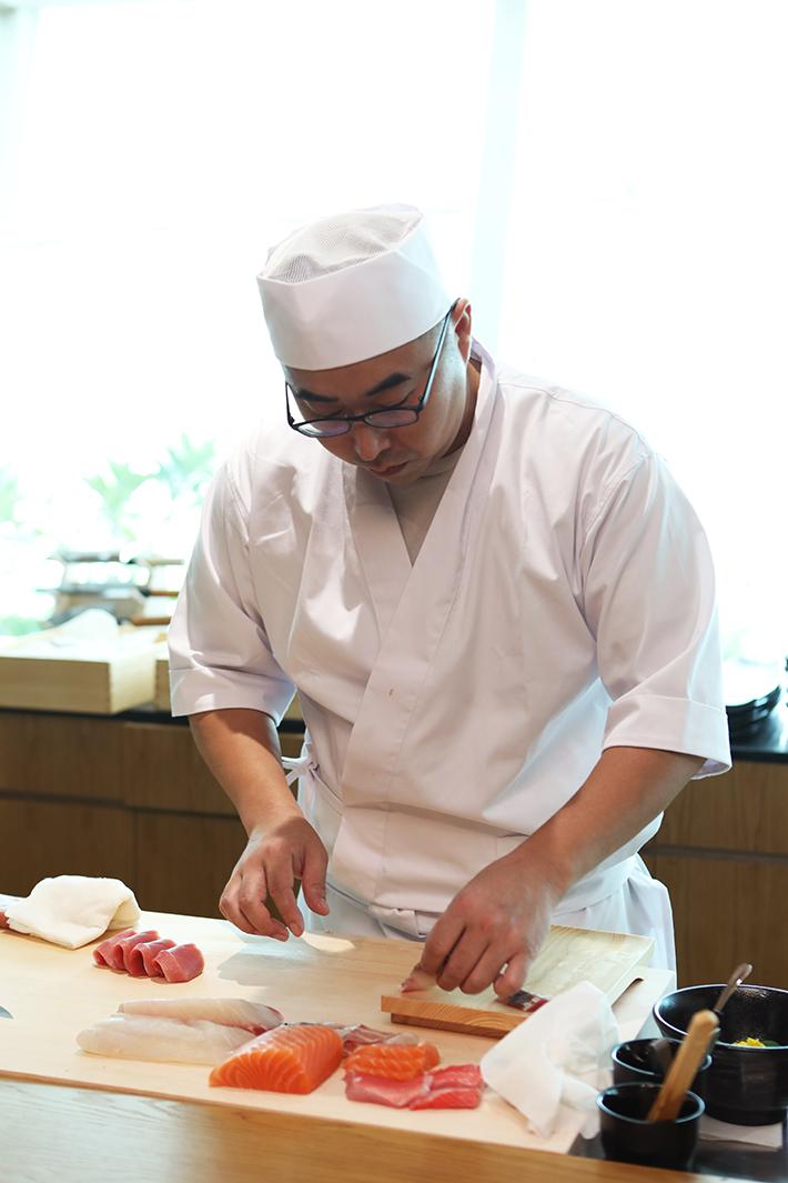 Sushi Jiro Keppel Bay Chef Kenji