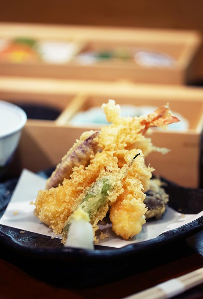 Sushi Jiro Keppel Bay Tempura