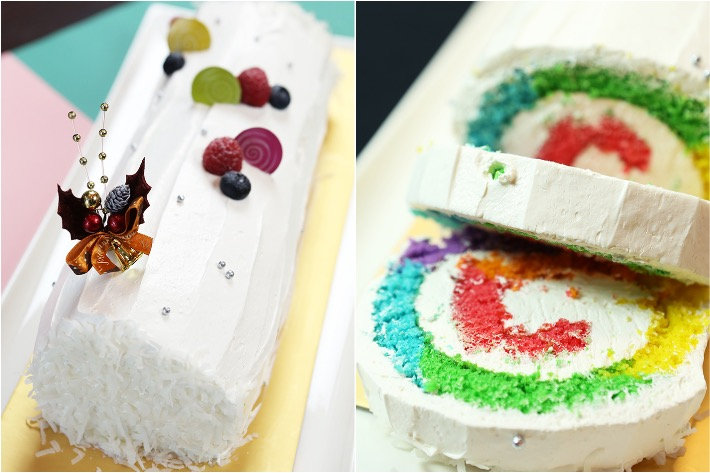 The Marmalade Pantry Rainbow Cake