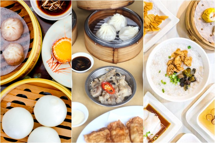 Affordable Dim Sum Places Collage