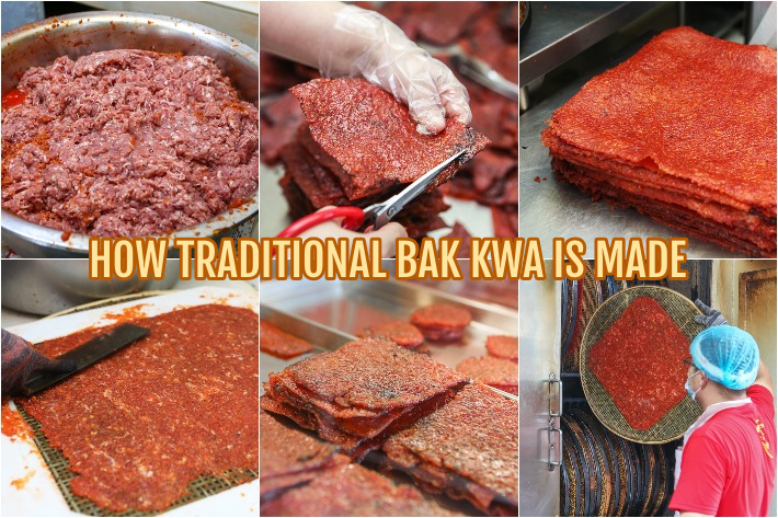 Bak Kwa Making Collage