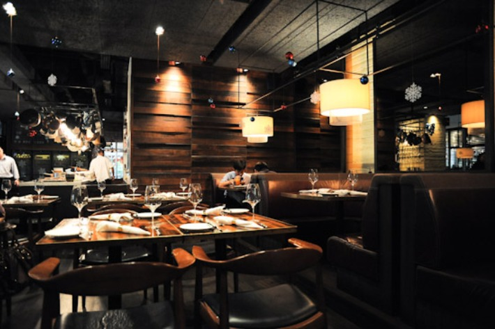 Bedrock Bar & Grill Interior