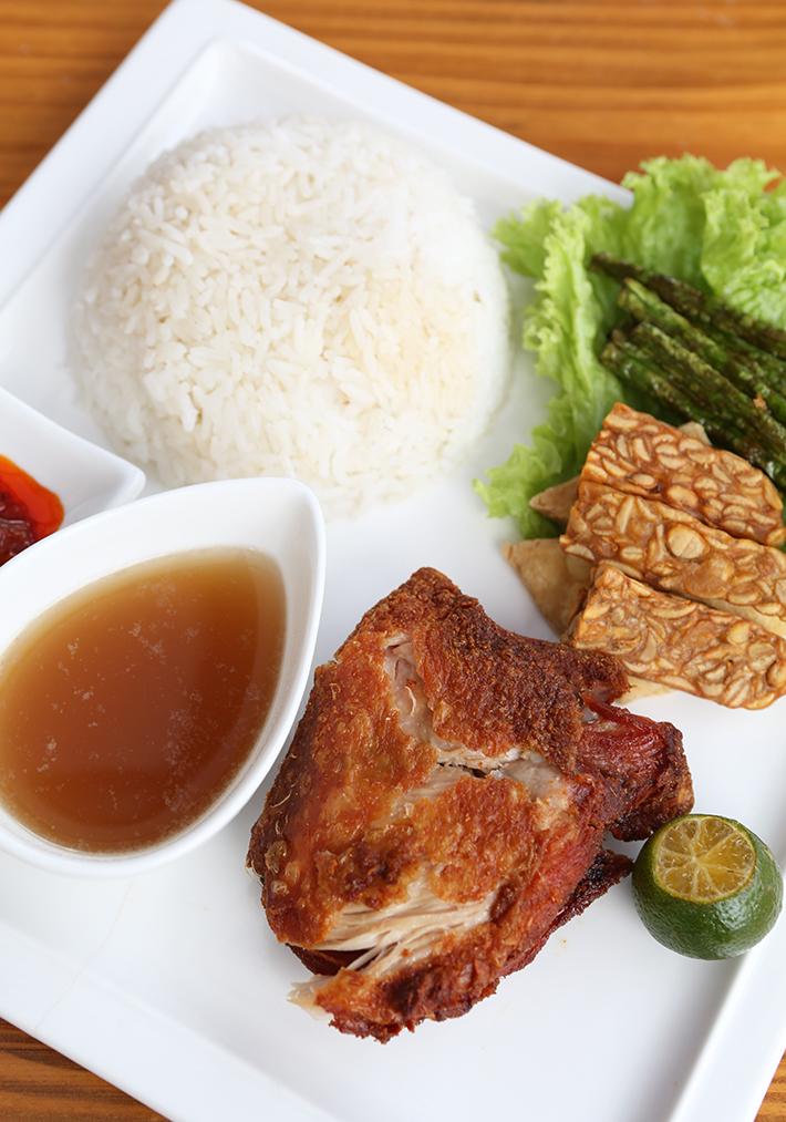 La Farine Ayam Penyet Rice