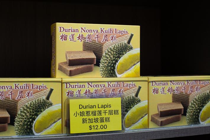 Durian Kueh Lapis