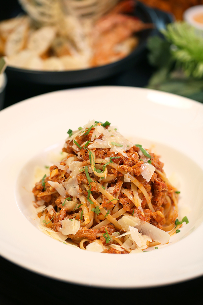 The Marmalade Pantry Chilli Crab Pasta