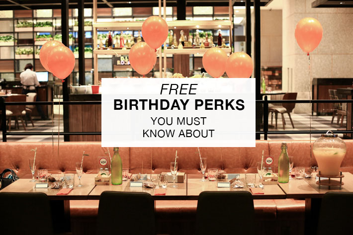 Birthday Perks
