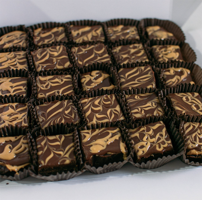 Edith Patisserie Peanut Butter Brownies