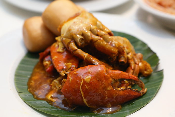 Ginger Chilli Crab