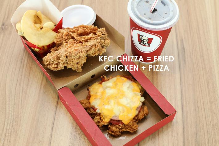 KFC Singapore Chizza