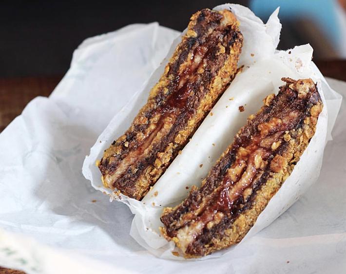 Park Bench Deli PB&J Sandwich (chocolatetbasil)