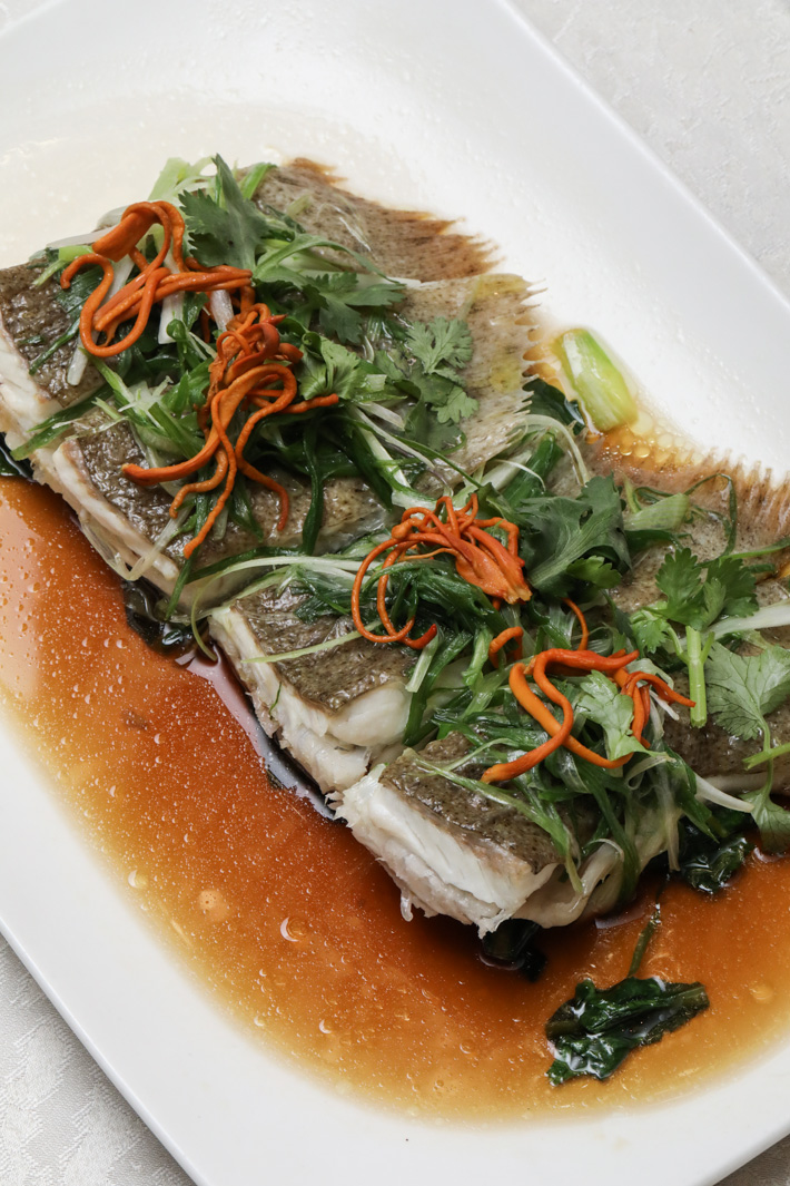 Si Chuan Dou Hua Turbot Fish