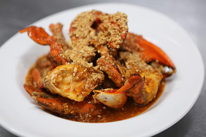 Spice Brasserie Chilli Crab