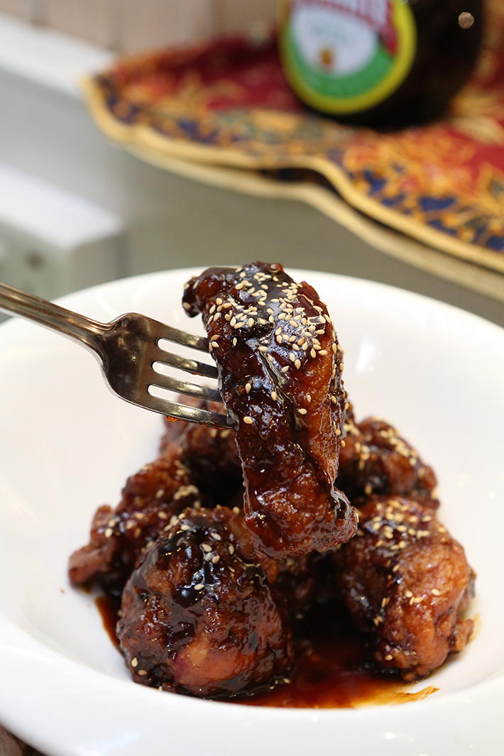 Spice Brasserie Marmite Chicken