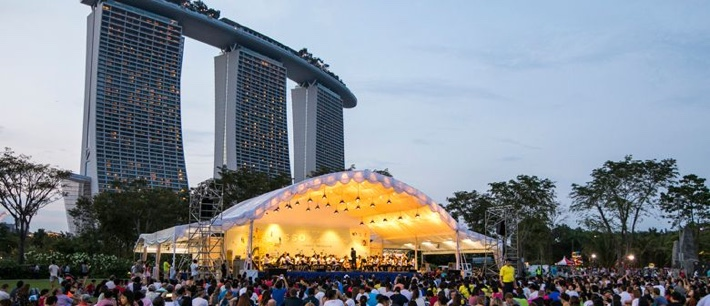 Symphony in the Gardens Gardens by the Bay