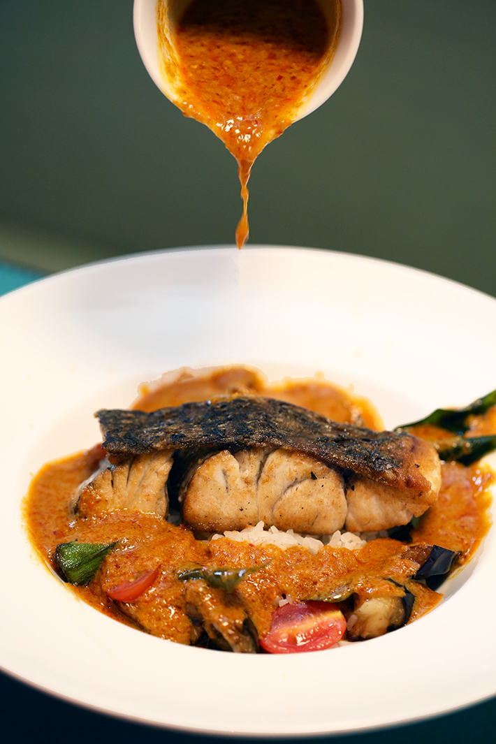 The Marmalade Pantry Curry Barramundi