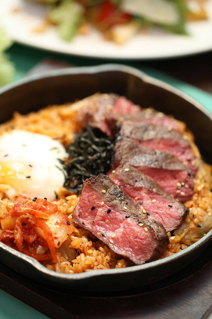 The Marmalade Pantry Kimchi Fried Rice