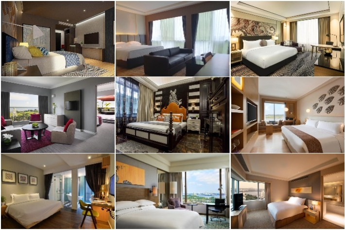 JB Hotels Collage