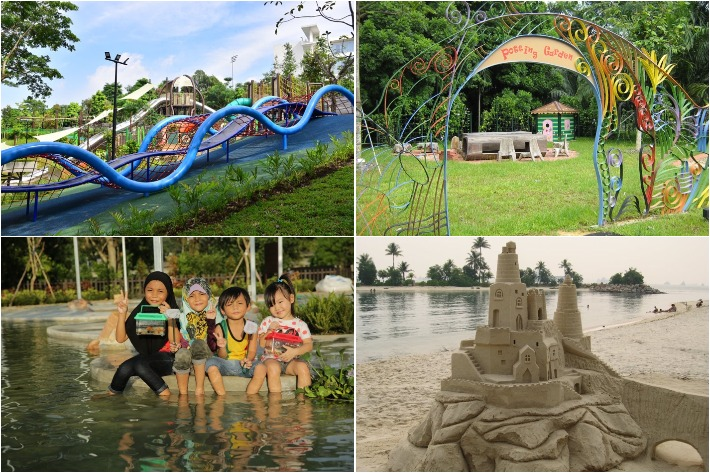 Outdoor Places For Kids Collage