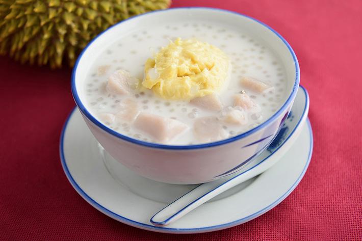 Ah Chew Desserts - Durian Yam Sago