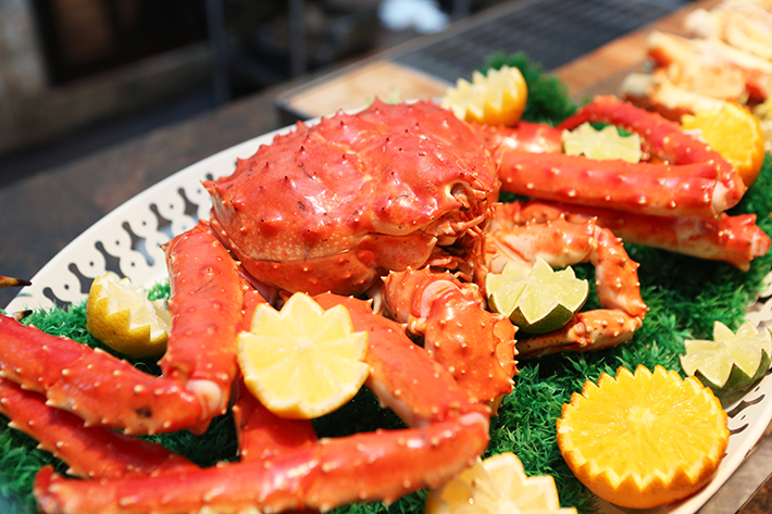 Edge Sunday Brunch Alaskan King Crab