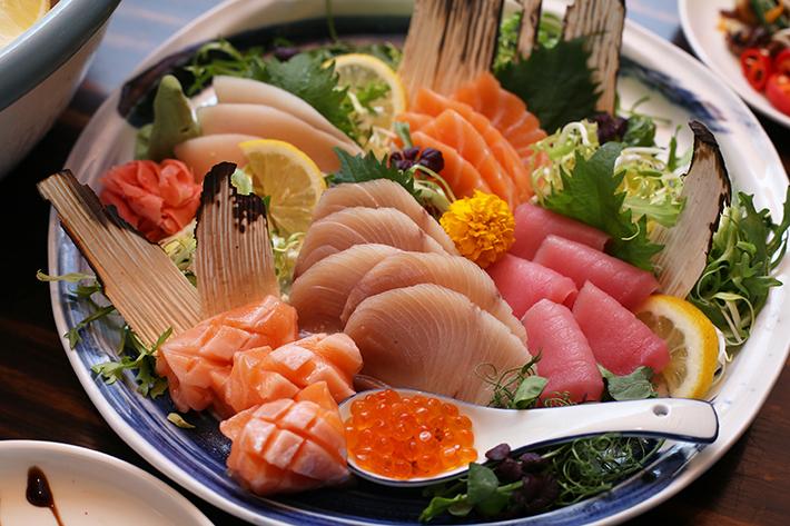 Edge Sunday Brunch Sashimi