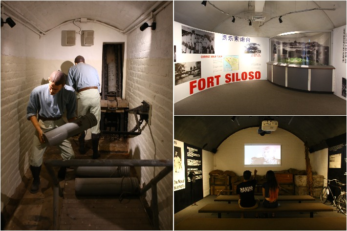 Fort Siloso Exhibitions