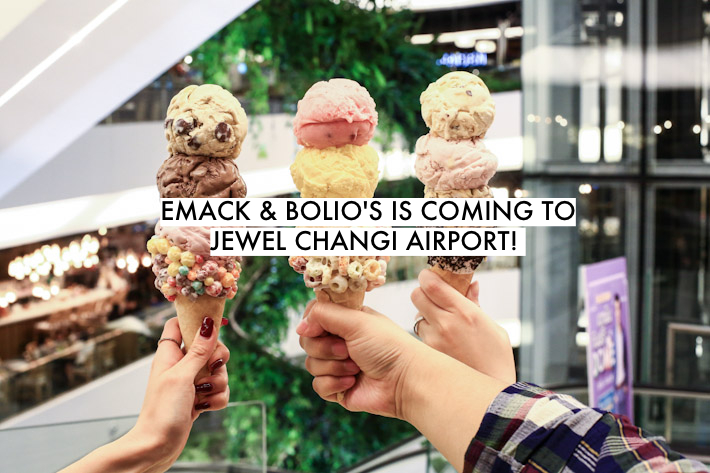 Emack & Bolio's Jewel Changi Airport!