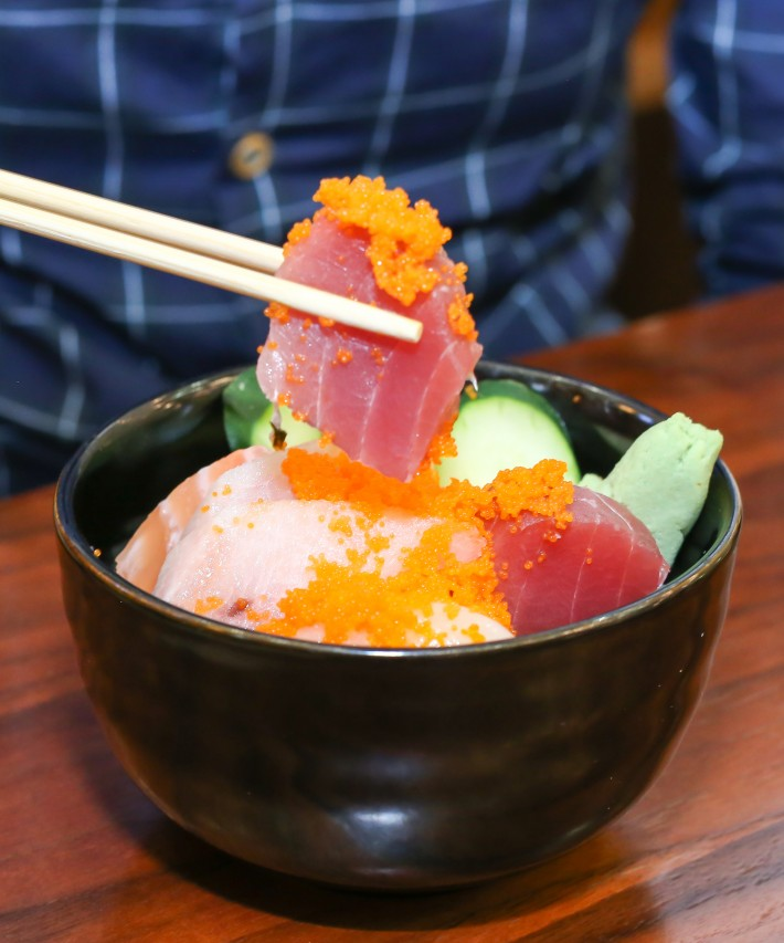 JJ Fish Mart Assorted-Chirashi-Don