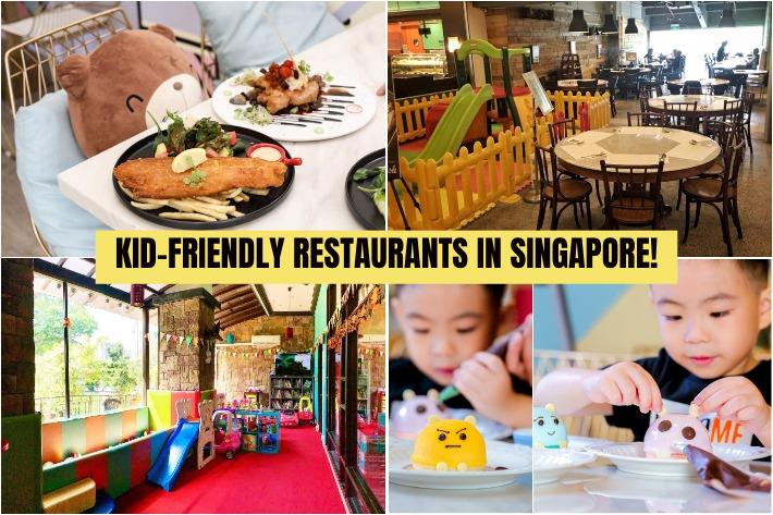 Kid-Friendly Restaurants Singapore