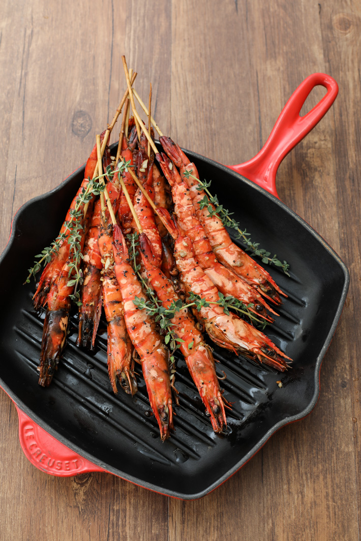 PARKROYAL Beach Road Grilled Prawns