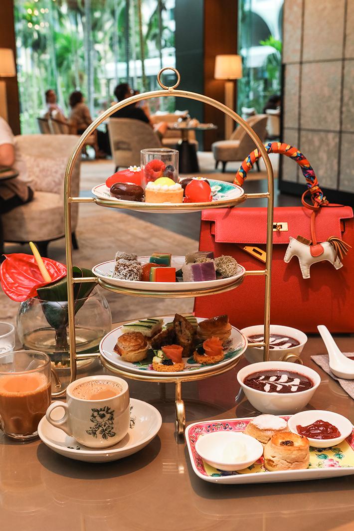 Shangri-La Hotel Afternoon Tea