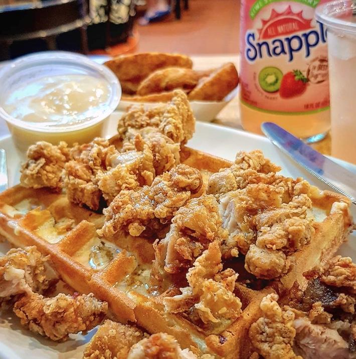 Waffletown Chicken Waffle